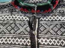 A close-up of the sweater...