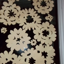 paper flowers - photo by Eleanor :-)