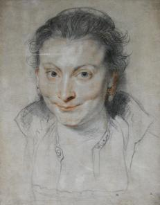 Rubens' first wife, Isabella Brant