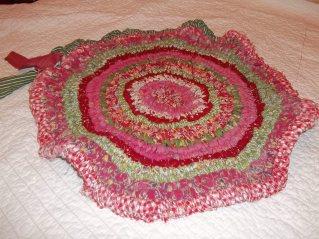 ruffle rug