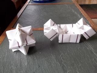 star and box
