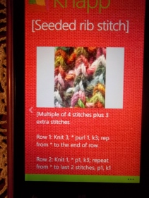 stitch with instructions