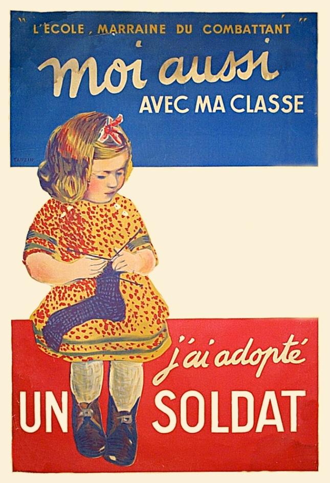 French children don't drop stitches.