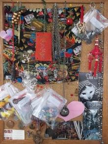 my clutter board