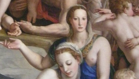 from Bronzino's Christ in Limbo