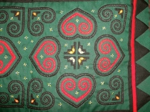 Hmong quilting