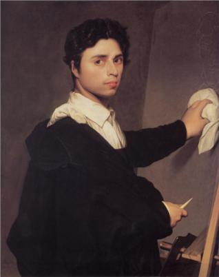 Ingres_self-portrait